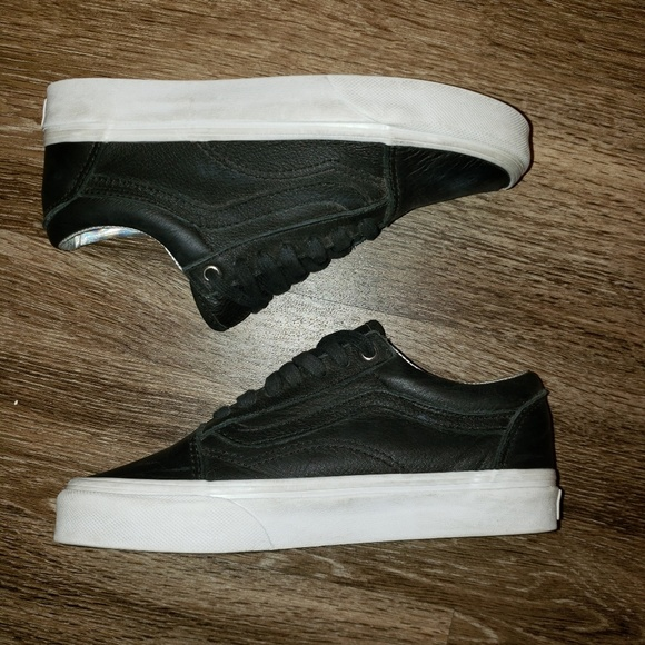 Vans Other - Black Leather Vans